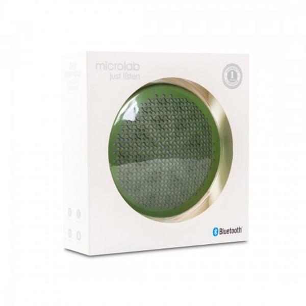 Портативная колонка Microlab D18 (Green)