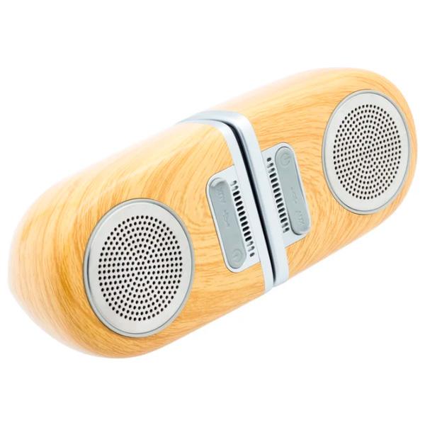 Портативная акустическая система Qumann QWS-01 Wood color