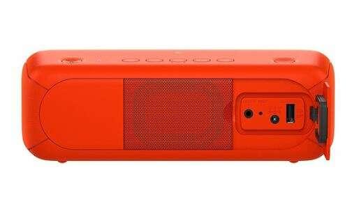 Портативная колонка Sony SRSXB30R (красный)