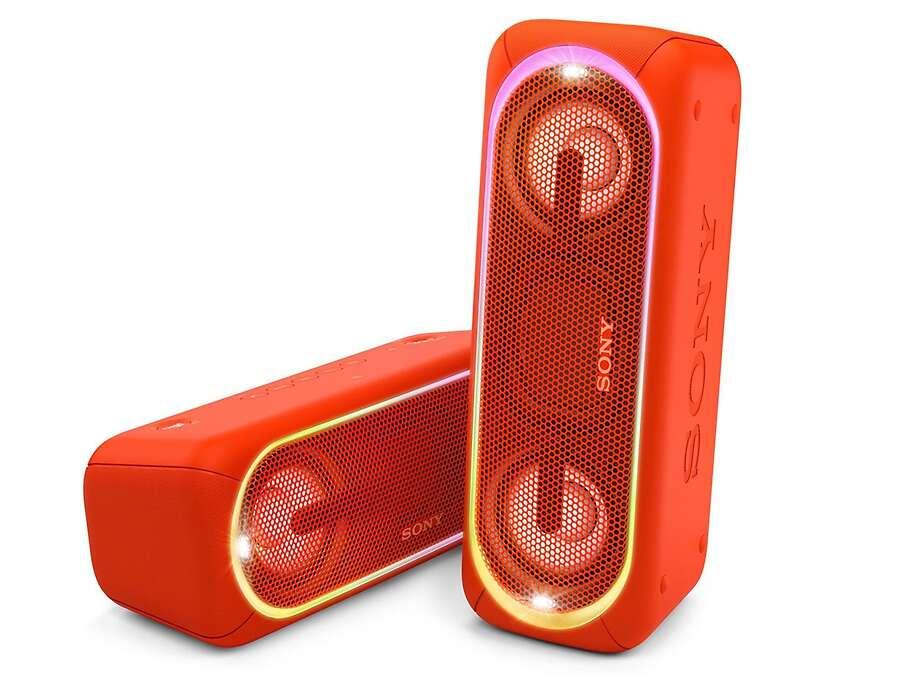 Портативная колонка Sony SRSXB40R (красный)