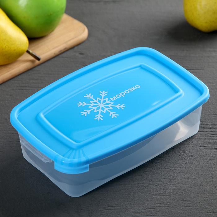 """Набор контейнеров для замораживания продуктов 0,7 л """"Морозко"""" 3 шт"""