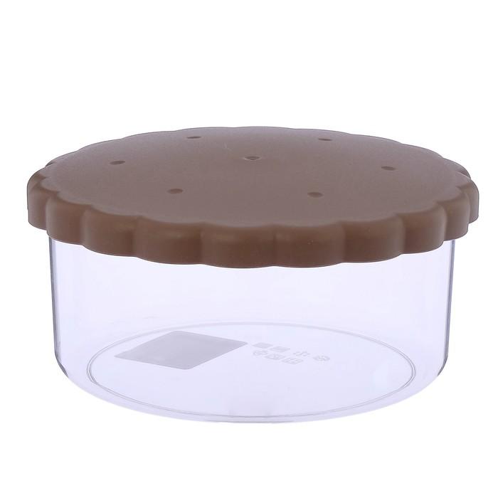 Ёмкость для печенья 1,8 л, цвет бежевый