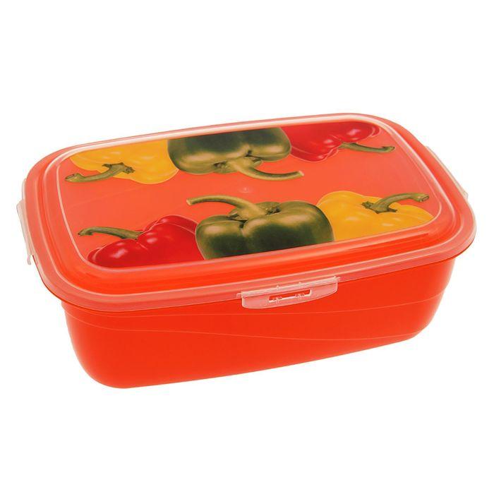 Контейнер пищевой 3,6 л Click&Lock, цвет МИКС
