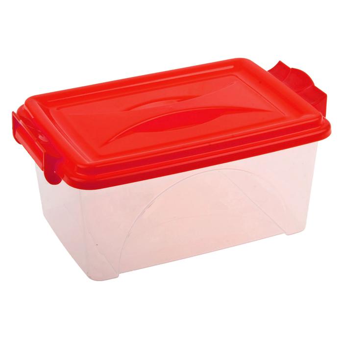 Контейнер пищевой 4,5 л, цвет МИКС