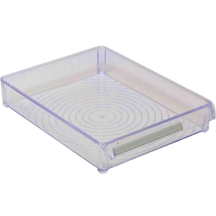 Контейнер для холодильника или шкафа 28 х 20 х 5 см, цвет прозрачно-синий