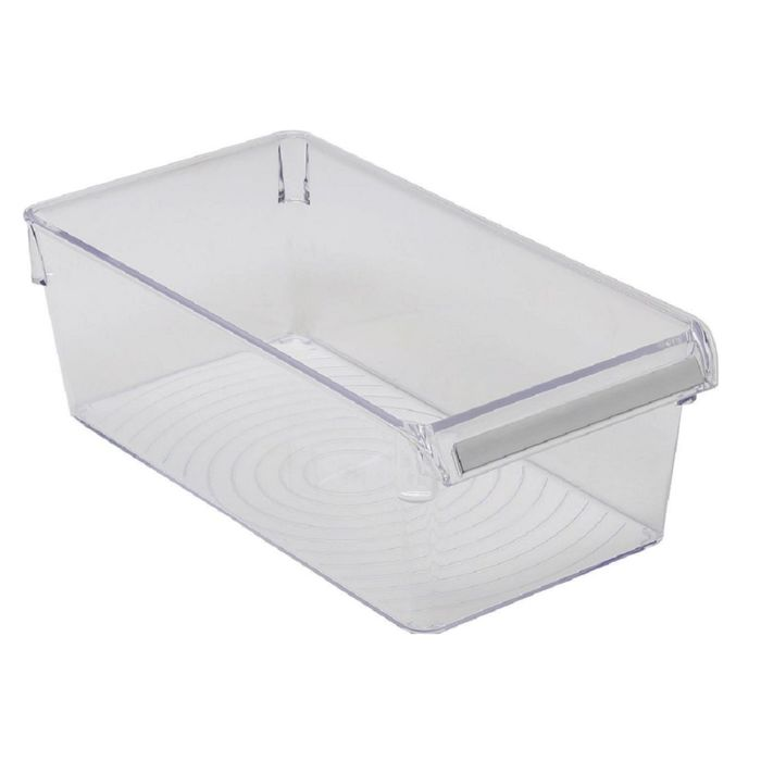 Контейнер для холодильника или шкафа 29 х 15 х 10 см, прозрачный, 4,5 л