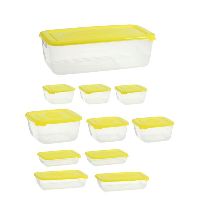 Набор контейнеров пищевых Polar, 12 шт, цвет МИКС