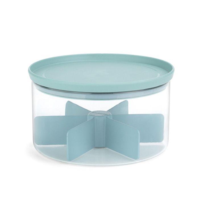 Модульный стеклянный контейнер для чая
