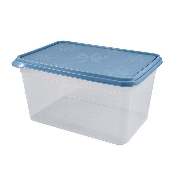 Контейнер Plast Team BERGEN 0,7л туманно-голубой