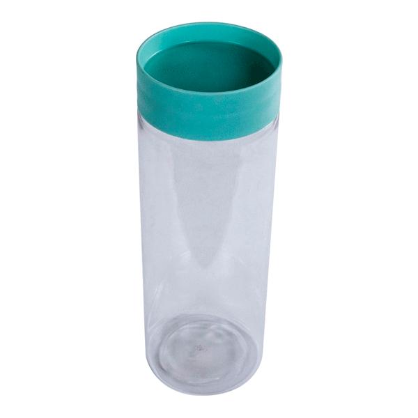 Банка для хранения сыпучих продуктов Plast Team 1,5 л мятный