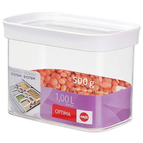 Контейнер Emsa Optima с дозатором для сыпучих продуктов (514550)