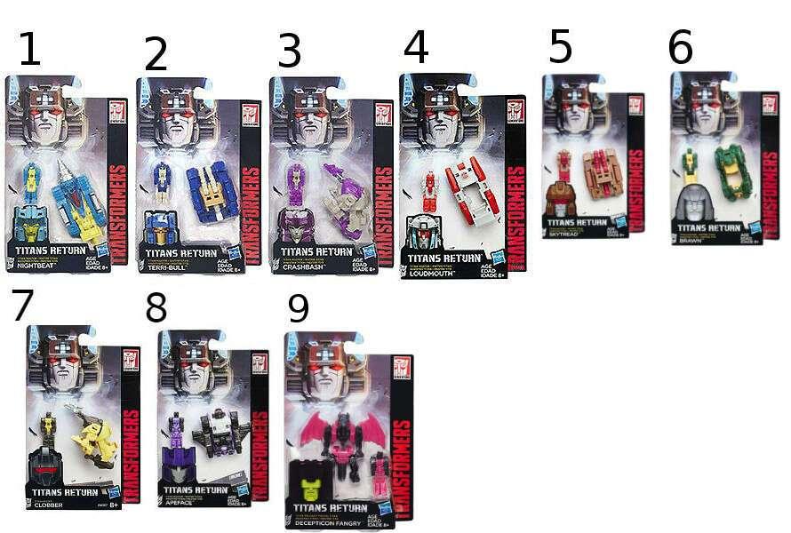 Игрушка Transformers H B4697 TRA Трансформеры Дженерэйшнс Мастера Титанов