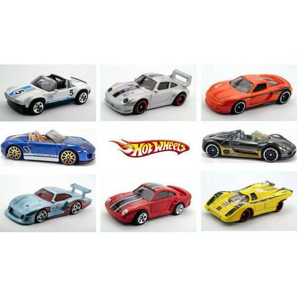Машинки Porshe в ассортименте Hot Wheels CGB63 HW