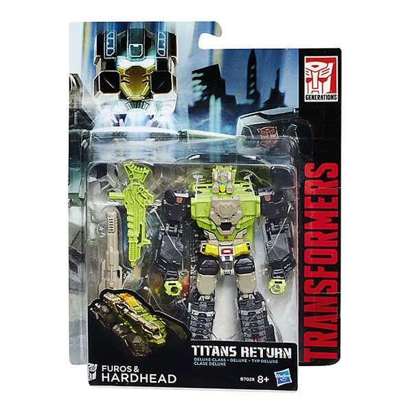 Игрушка Transformers H B7762 TRA Войны Титанов Дэлюкс