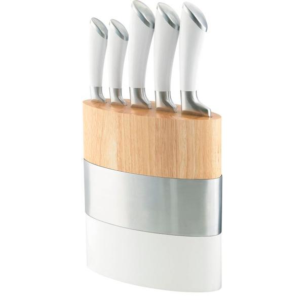 Набор ножей Richardson Sheffield Amefa 37170F с блоком-подставкой (5 предметов)