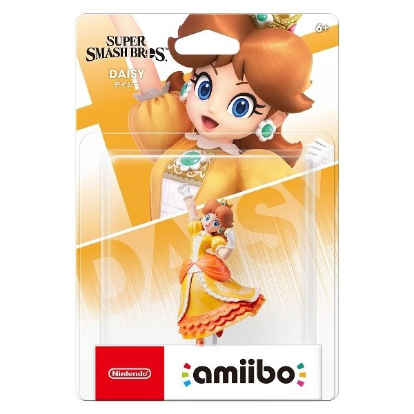 Аксессуар Nintendo Amiibo Дейзи (коллекция Super Smash Bros.) фигурка.
