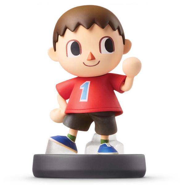 Аксессуар Nintendo Amiibo Житель (коллекция Super Smash Bros.)