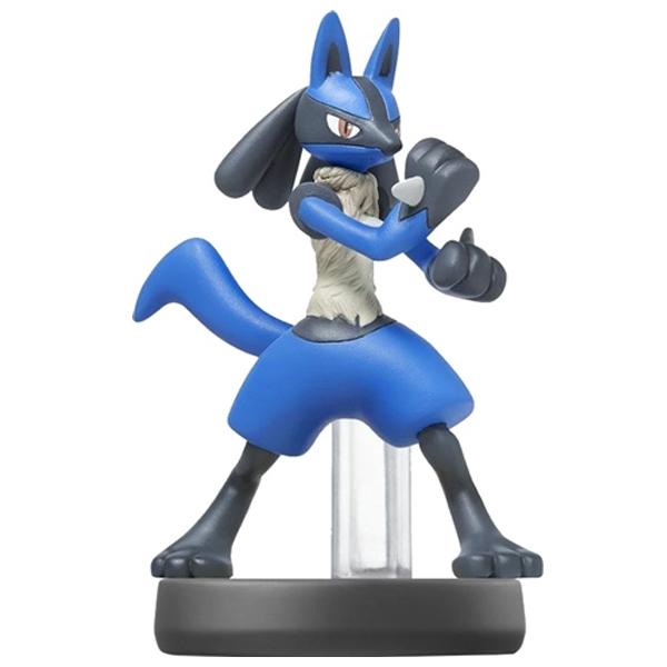 Аксессуар Nintendo Amiibo Лукарио (коллекция Super Smash Bros.)