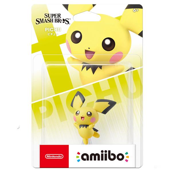 Аксессуар Nintendo Amiibo Пичу (коллекция Super Smash Bros.)