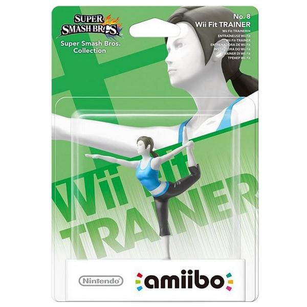 Аксессуар Nintendo Amiibo Тренер Wii Fit (коллекция Super Smash Bros.)