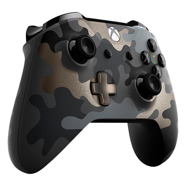 Беспроводной геймпад Microsoft Xbox One Night Ops Camo WL3-00151