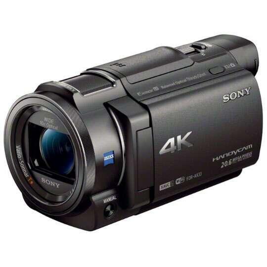 Видеокамера Sony FDR-AX33 4K (FDRAX33B.CEL)