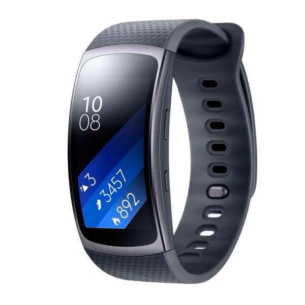 Фитнес браслет Samsung Gear Fit 2 SM-R3600DAASKZ Black