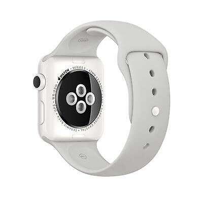 "Смарт часы Apple Watch Edition 42mm White Ceramic, спортивный ремешок цвета ""облако"" (MNPQ2GK/A)"