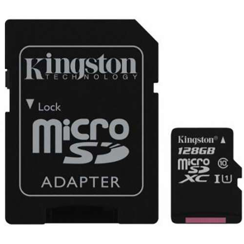 Карта памяти Kingston microSDXC 128GB Class 10 (SDCX10/128GB)