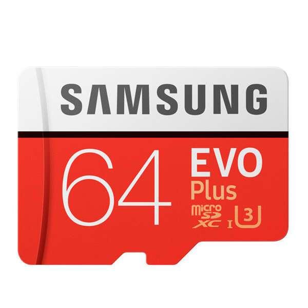 Карта памяти Samsung MicroSD 64GB Class 10 MB-MC64GARU