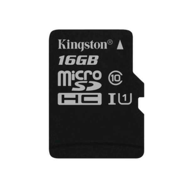 Карта памяти Kingston Canvas Select microSDHC 16GB Class 10 (SDCS/16GB)