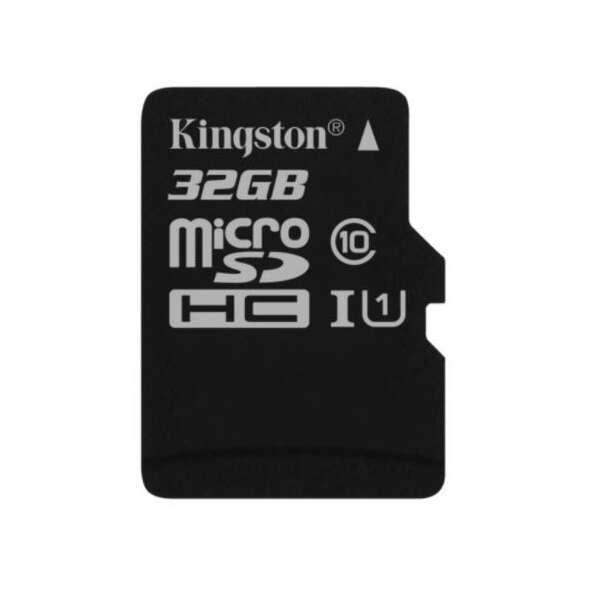 Карта памяти Kingston Canvas Select microSD 32GB UHS-I Class 1 + Adapter SDCS/32GB
