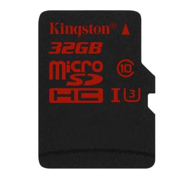 Карта памяти Kingston Canvas React microSDHC 32GB Class 3 (SDCR/32GB)