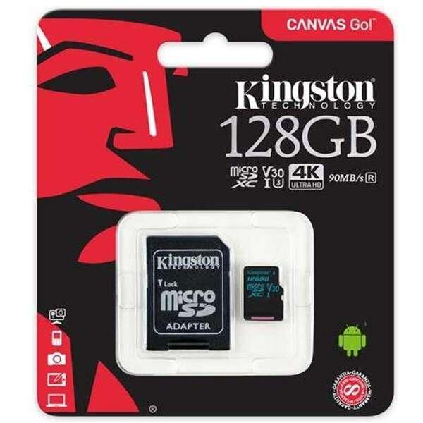 Карта памяти Kingston MicroSDXC 128 GB (SDCR/128GB)