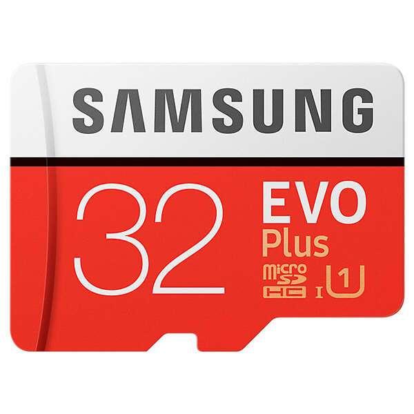 Карта памяти Samsung MicroSDHC 32 GB UHS-I Class 1 + A (MB-MC32GA/RU)