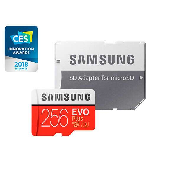 Карта памяти Samsung MicroSDXC 256GB Class 10 MB-MC256GA/APC