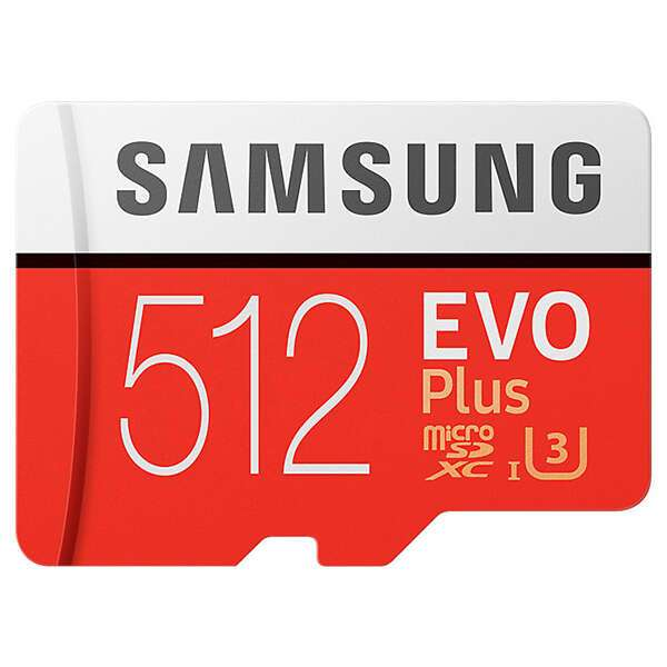 MicroSDXC 512 GB Evo Plus MB-MC512GA/RU карта памяти Samsung