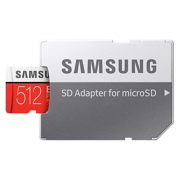 Карта памяти Samsung Evo Plus microSDXC 512GB Class 10 (MB-MC512GA)