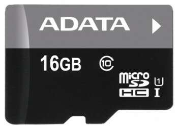 Карта памяти Adata AUSDH16GUICL10-RA1