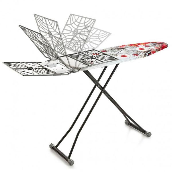 Гладильная доска Perilla Tomris with basket 15019
