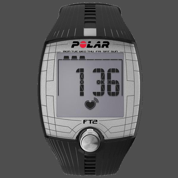 Монитор сердечного ритма Polar (черный) FT2 BLK