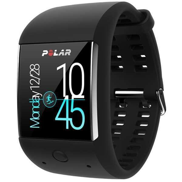 Умные спортивные часы Polar M600, черные