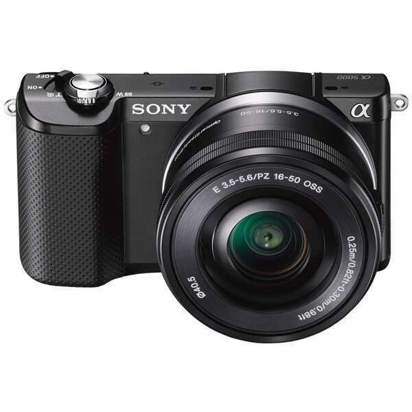 Цифровой фотоаппарат Sony ILCE-5000L/BCEC (Black)