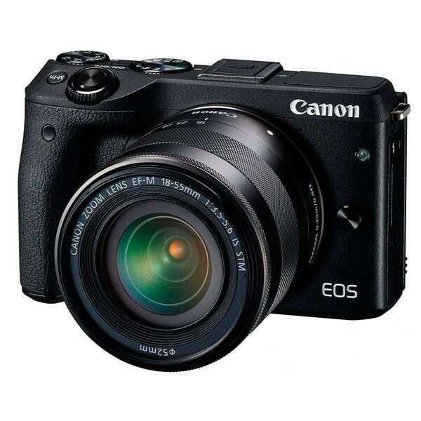 Системный фотоаппарат Canon EOS M3 Premium Kit