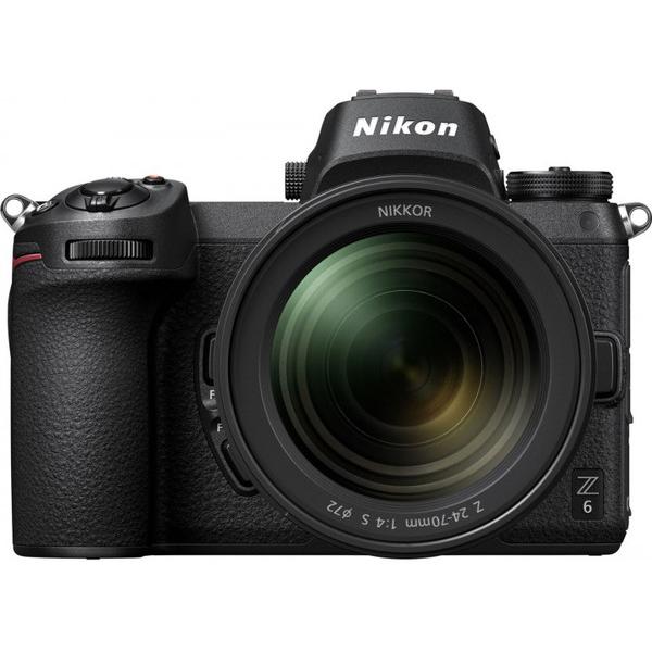 Cистемная фотокамера Nikon Z 6 + 24-70 f4 Kit