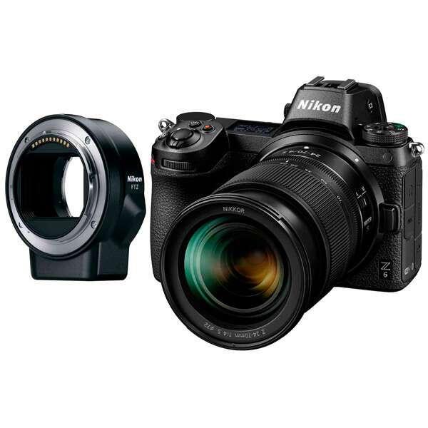 Cистемная фотокамера Nikon Z 6 + 24-70mm f4 + FTZ Adapter Kit