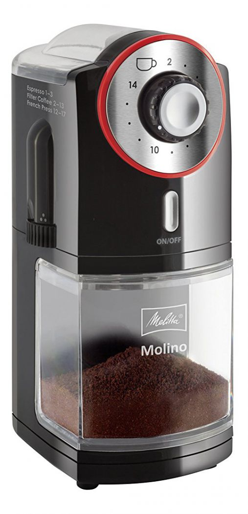 Кофемолка Melitta 1019-02 EU Red-black