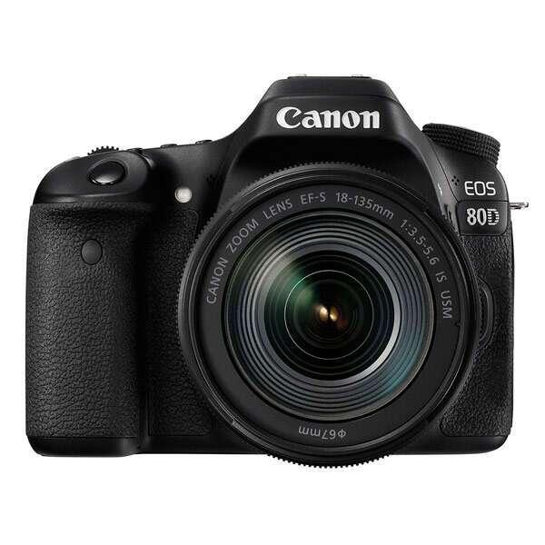 Зеркальная фотокамера Canon EOS 80D EF-S 18-135 IS USM