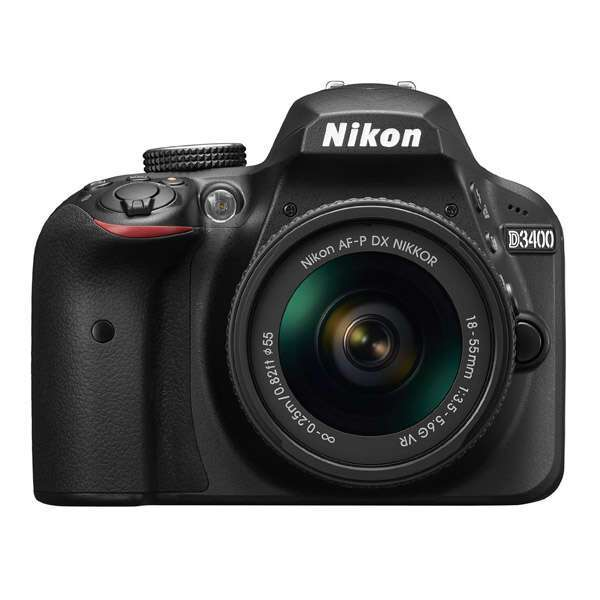 Зеркальная фотокамера Nikon D3400 AF-P 18-55 II kit