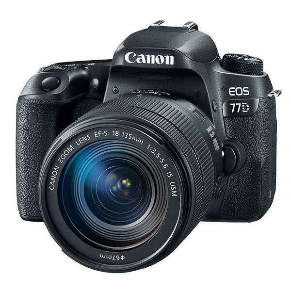 Цифровая фотокамера Canon EOS 77D 18-135 IS USM Kit
